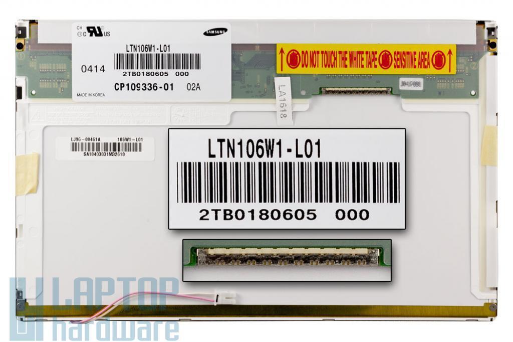 Fujitsu-Siemens LifeBook P2110, P2120 Gyári új kijelző LTN106W1-L01