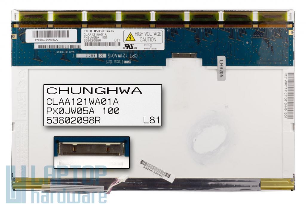 CLAA121WA01A WXGA 1280*800