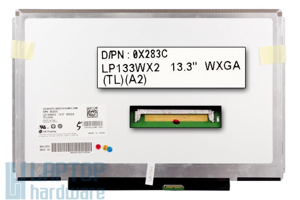 Gyári új matt 13.3'' (1280x800) LED laptop Slim kijelző (csatlakozó: 40 pin - jobb)