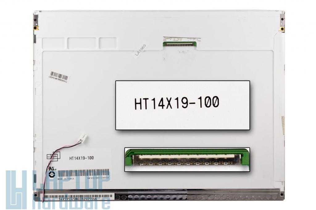 Boehydis (HT14X19-100) 14'' XGA használt matt laptop kijelző