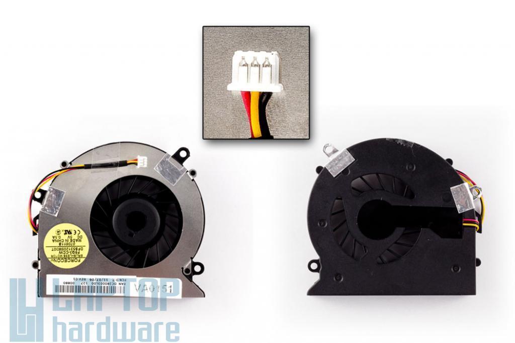 Acer Aspire 5310, 5315, 5520,  5715 gyári új laptop hűtő ventilátor (DFS531205M30T)