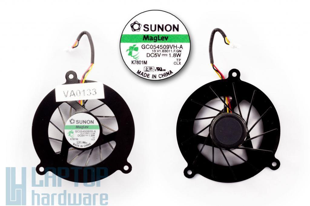 Asus A3000(A3), A8000(A8) használt laptop hűtő ventilátor (13.V1.B3011.F.GN)