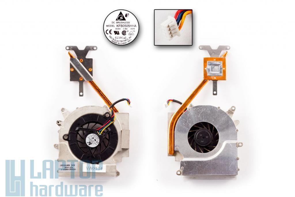Asus F3KA, F3T, F3TC, F7KR, M51KR használt VGA, ATI Video hűtő ventilátor