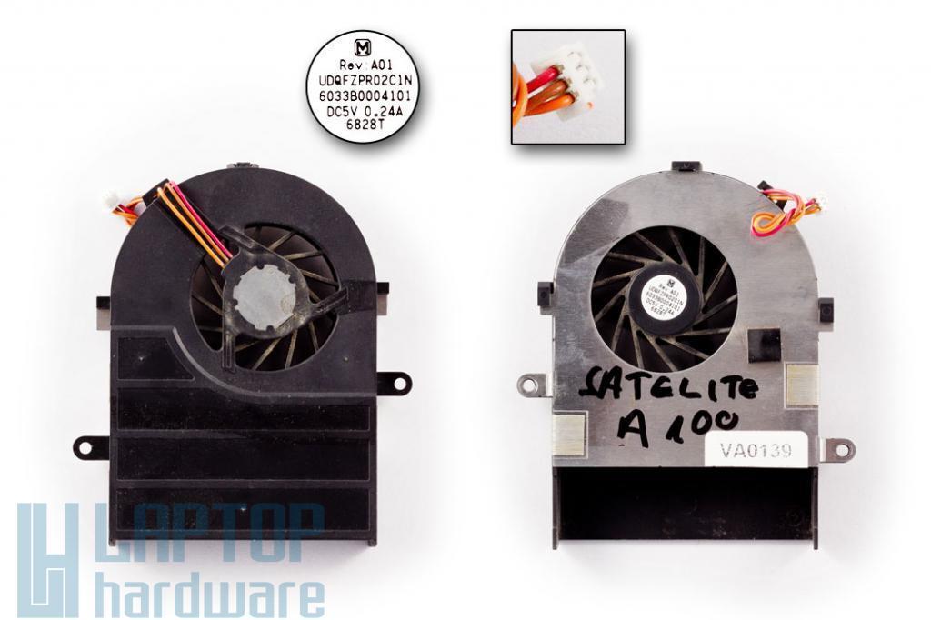 Toshiba Satellite A100, A105 használt hűtő ventilátor Panasonic UDQFZPR01C1N