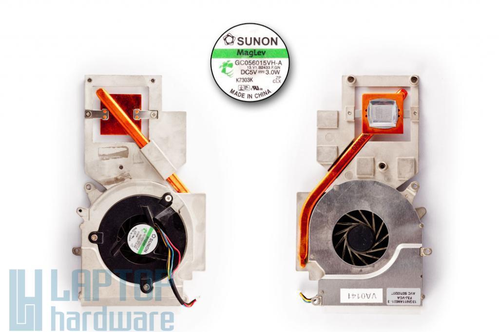 Asus F3JA, F3JC, F3JM, F3JP, F3JR használt VGA, NVIDIA Video hűtő ventilátor