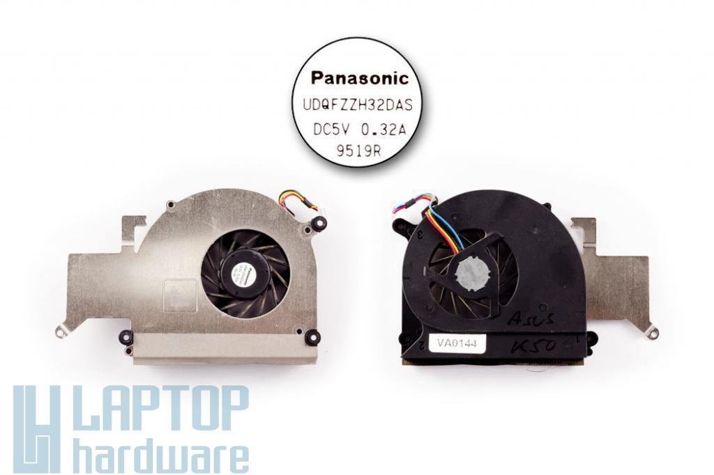 Asus K40AB, K50AB használt hűtő ventilátor, 13GNVX1AM010-1