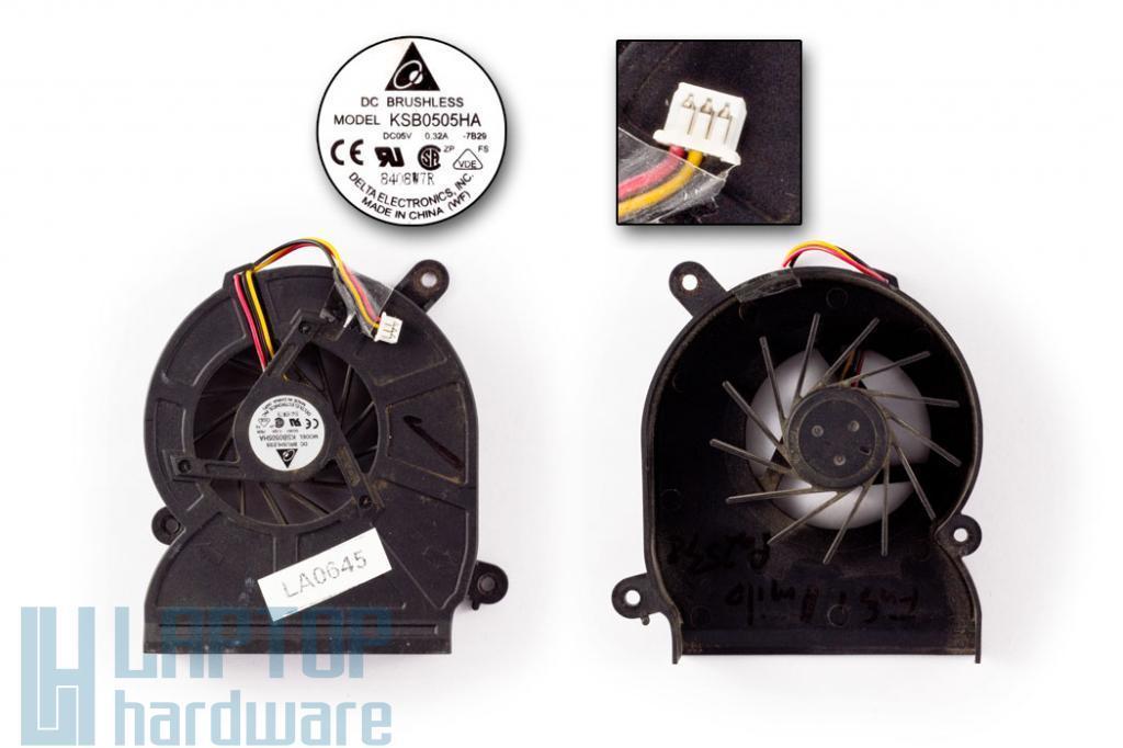 Fujitsu-Siemens Amilo Pa2548 használt hűtő ventilátor Delta KSB0505HA