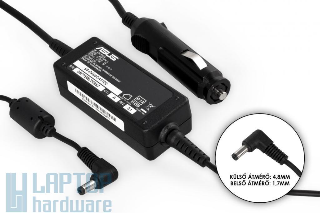 Asus EEEPC 12V 3A 35W gyári új autós laptop töltő (ADP-36FH A, 90-OA00CA1100)