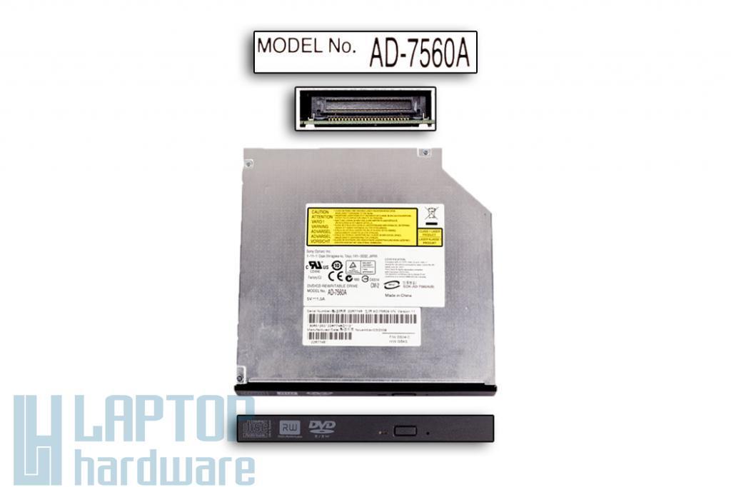 SONY IDE Új laptop, notebook DVD Író AD-7560A