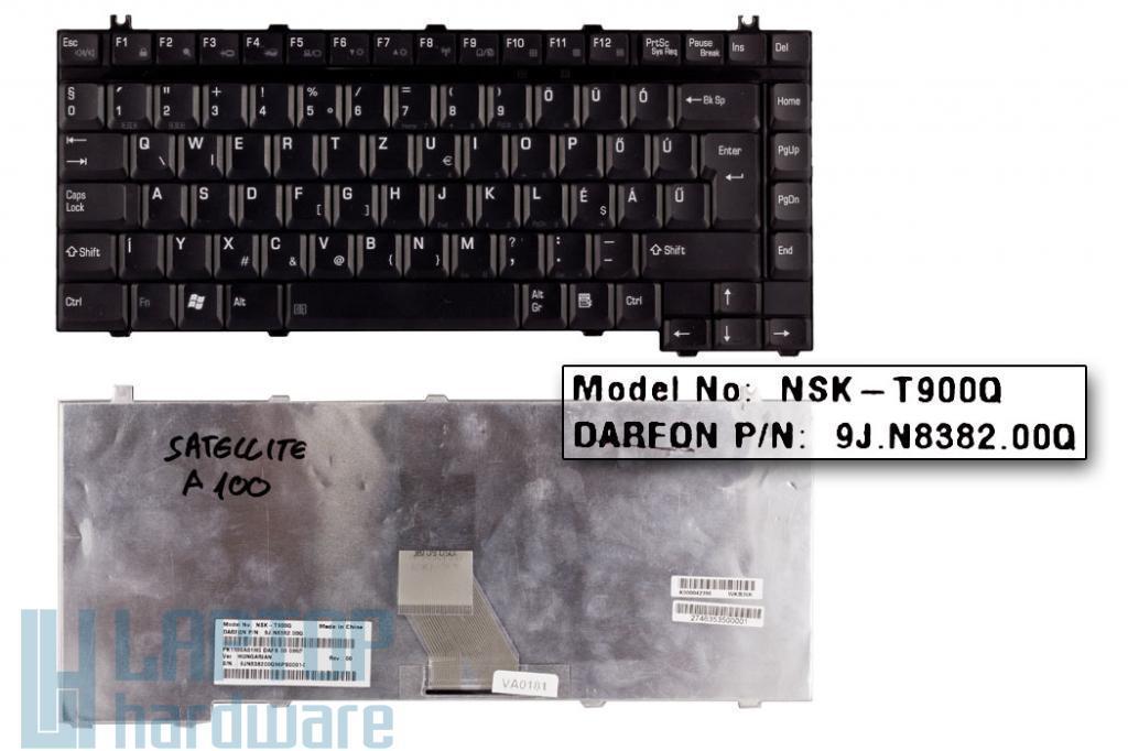 Toshiba Satellite A10, A20, A100, A120 használt magyar notebook billentyűzet, NSK-T900Q