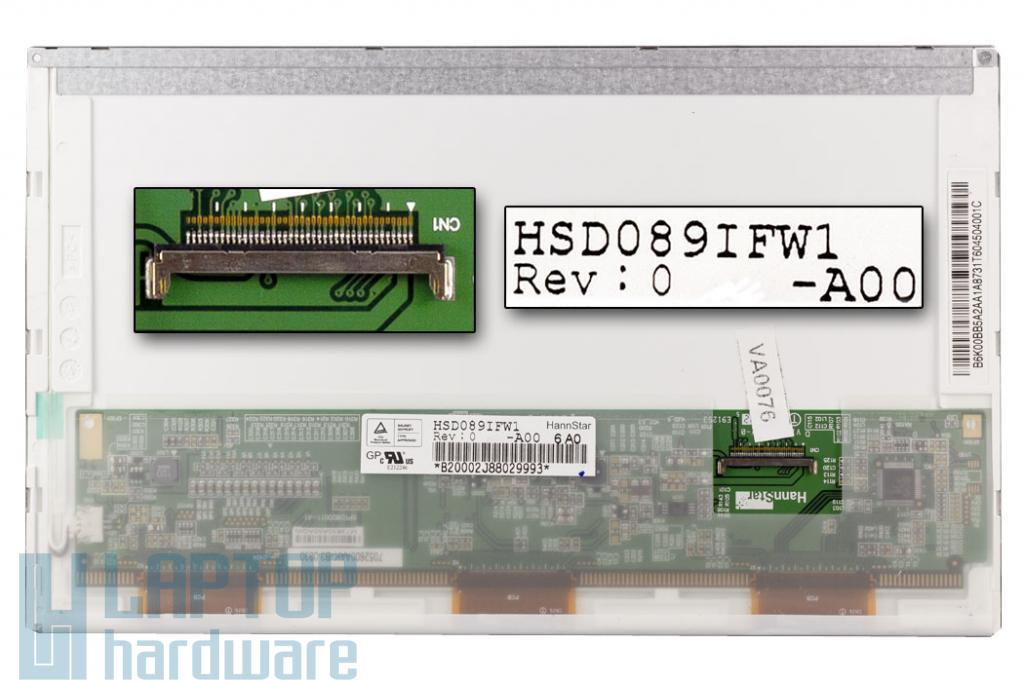 Fujitsu Amilo Mini ui3520 matt használt netbook kijelző