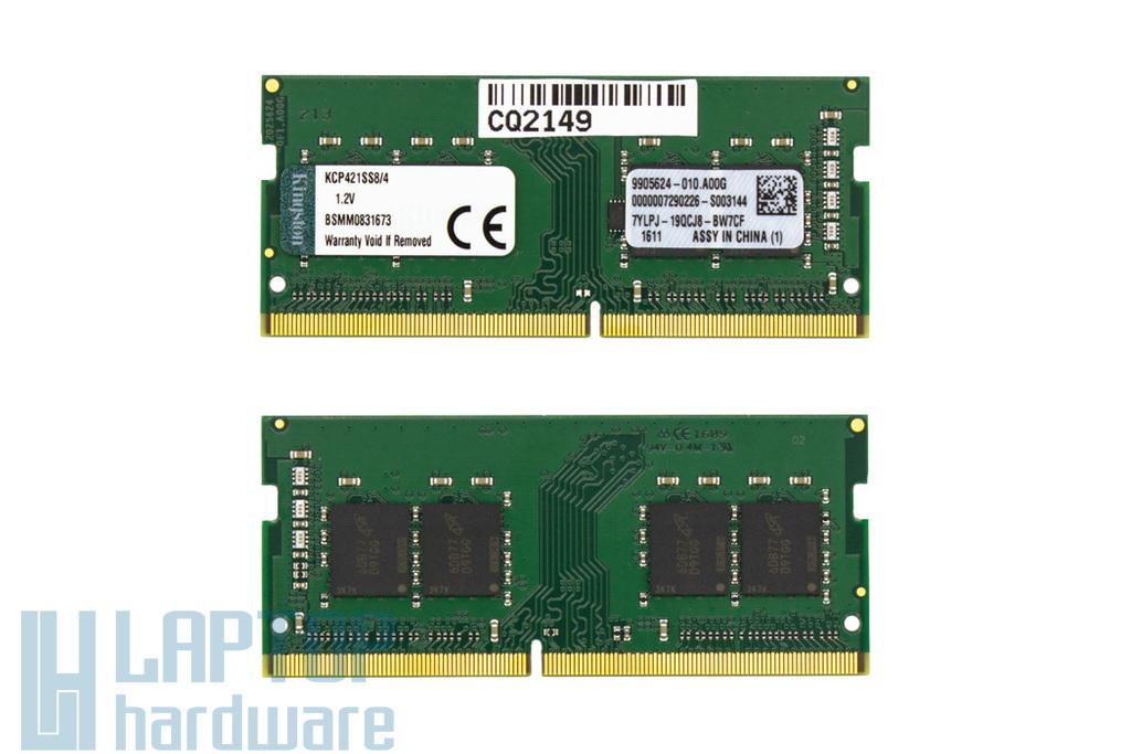 4GB DDR4 2133MHz gyári új laptop memória