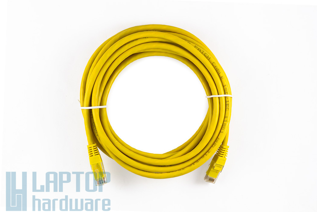 5m CAT.6E sárga UTP Patch kábel, WL022BG-5 YE