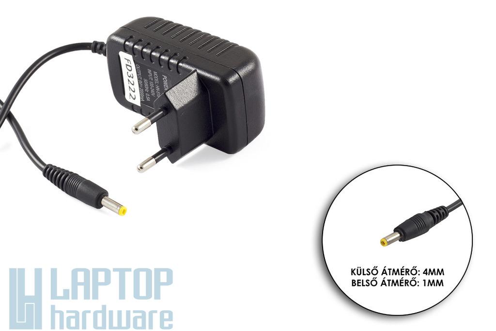 9V 2A 18W 4mm/1mm helyettesítő tablet töltő