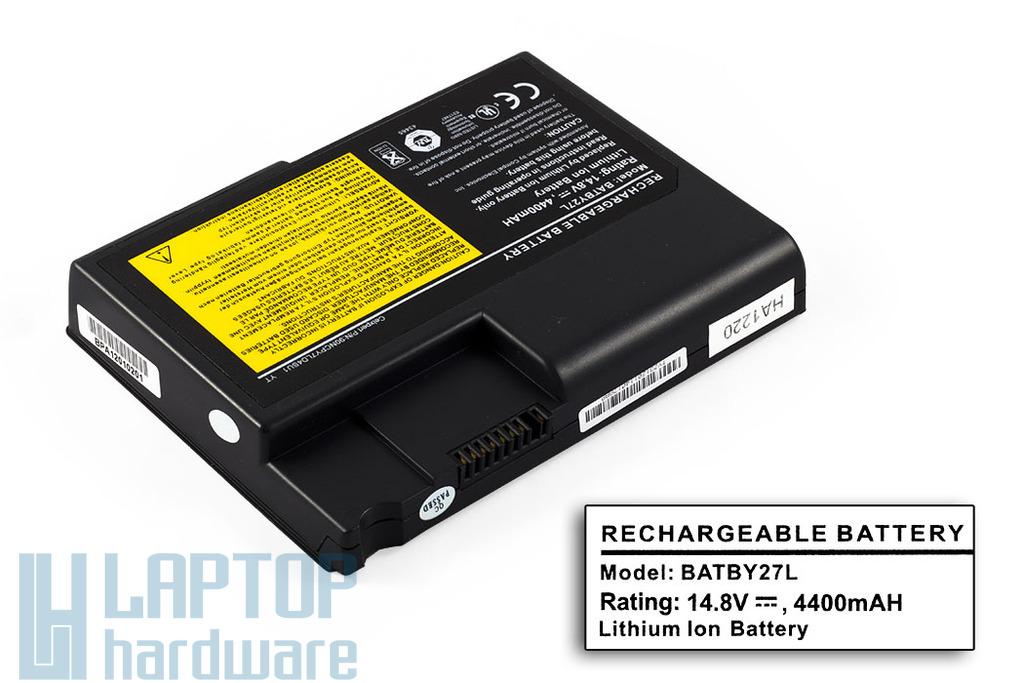 BTP-550 helyettesítő új 8 cellás laptop akku/akkumulátor