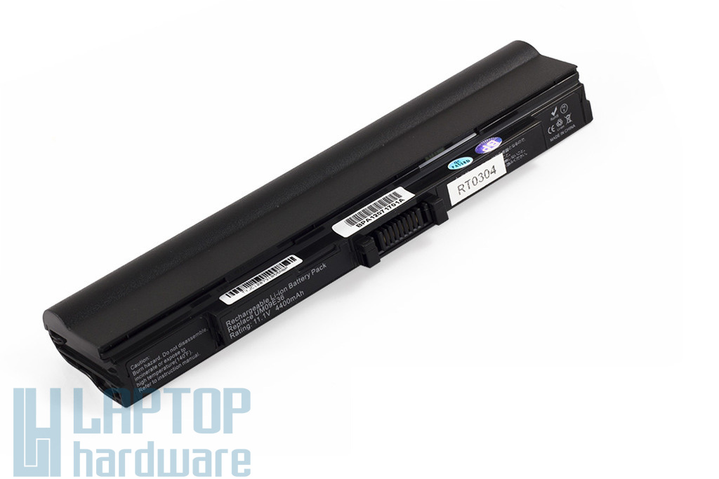 Acer Aspire 1410, 1810, Aspire One 521, 752 helyettesítő új 6 cellás laptop akku/akkumulátor (UM09E36, UM09E71)