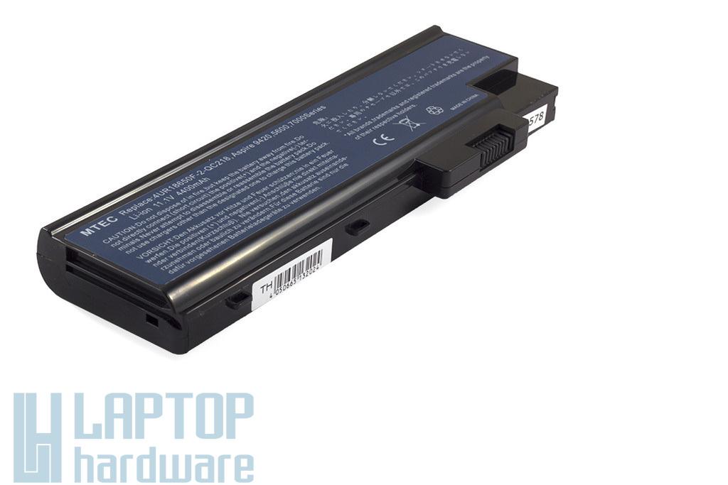 Acer Travelmate 2300, 4000 helyettesítő új 6 cellás laptop akku/akkumulátor  4UR18650F-2-QC218