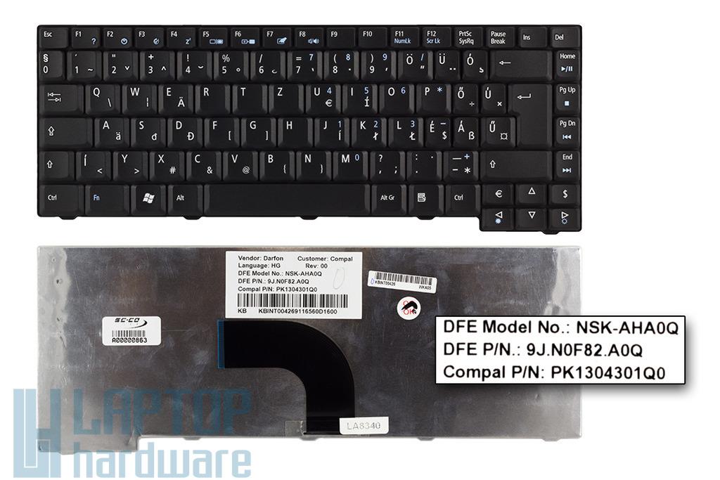 Acer Aspire 2930, 2930Z, TravelMate 6293 gyári új magyar laptop billentyűzet (NSK-AHA0Q)