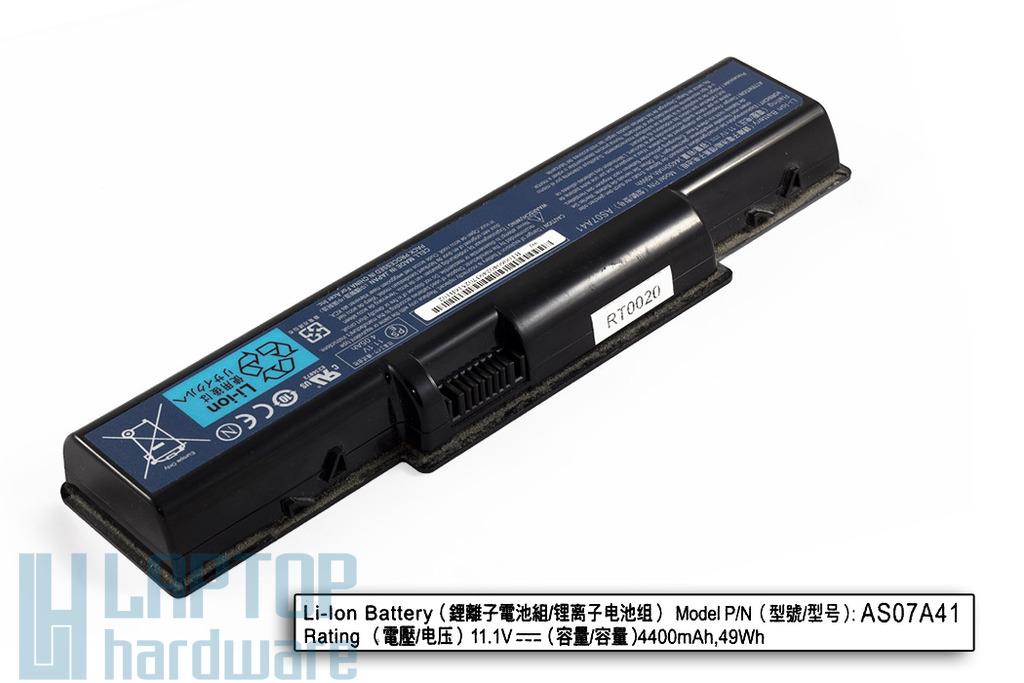 Acer Aspire 2930, 4230, 4310 használt 6 cellás 25%-os laptop akku/akkumulátor (AS07A41)
