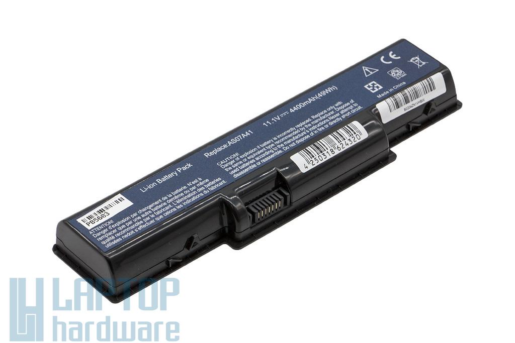 Acer Aspire 2930, 4730, 5740 helyettesítő új 6 cellás laptop akku/akkumulátor (AS07A31)