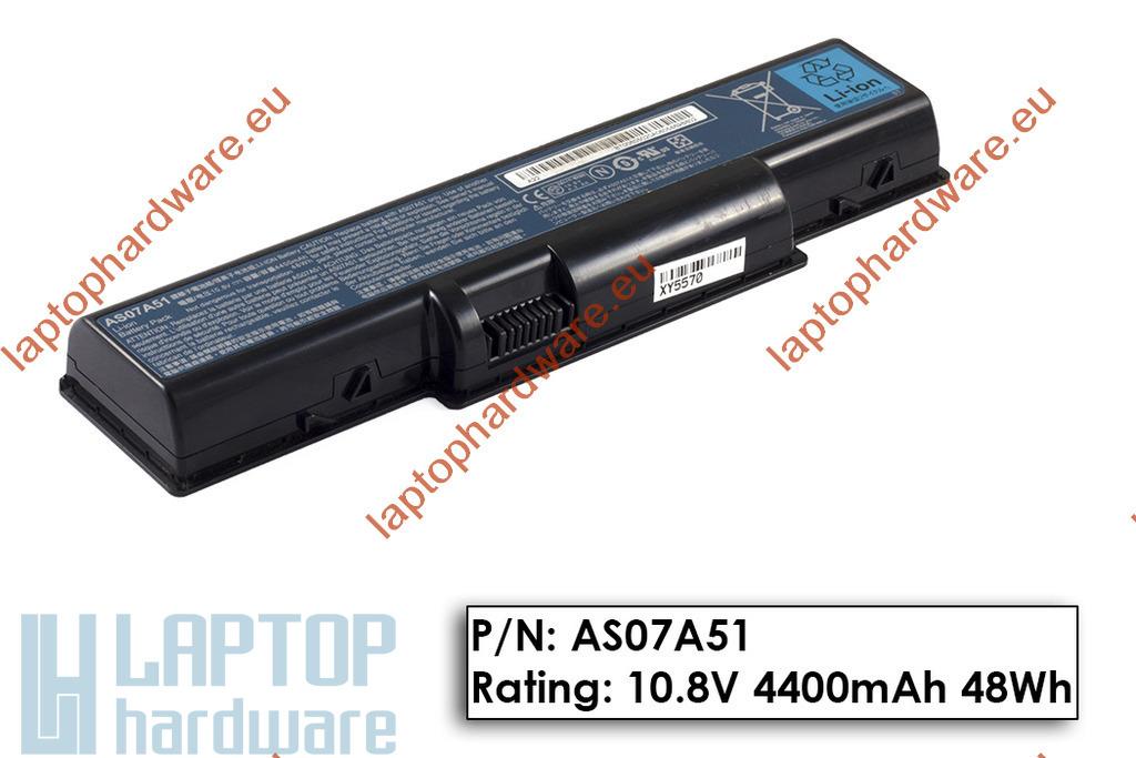 Acer Aspire 2930, 4930, 5740 használt gyári 90%-os 6 cellás laptop akku/akkumulátor (AS07A51)