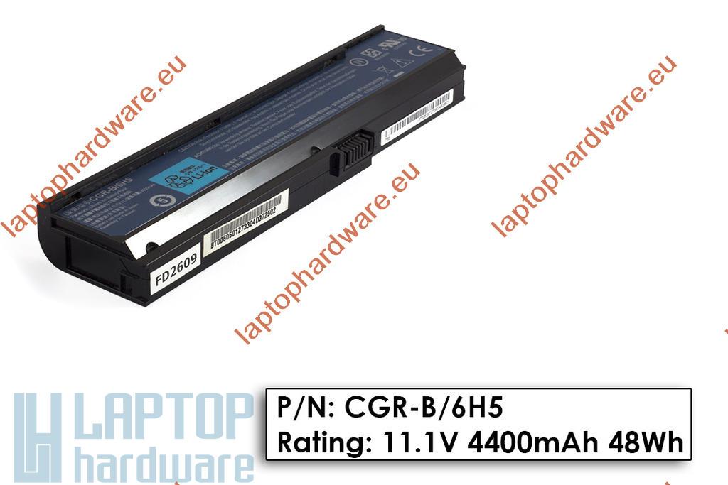 Acer Aspire 3030, 5550, Travelmate 4310 használt 50%-os 6 cellás gyári laptop akku/akkumulátor (CGR-B/6H5)