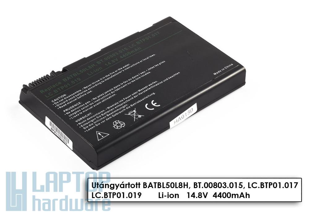 Acer Aspire 3100, 5100 8 cellás helyettesítő új laptop akkumulátor