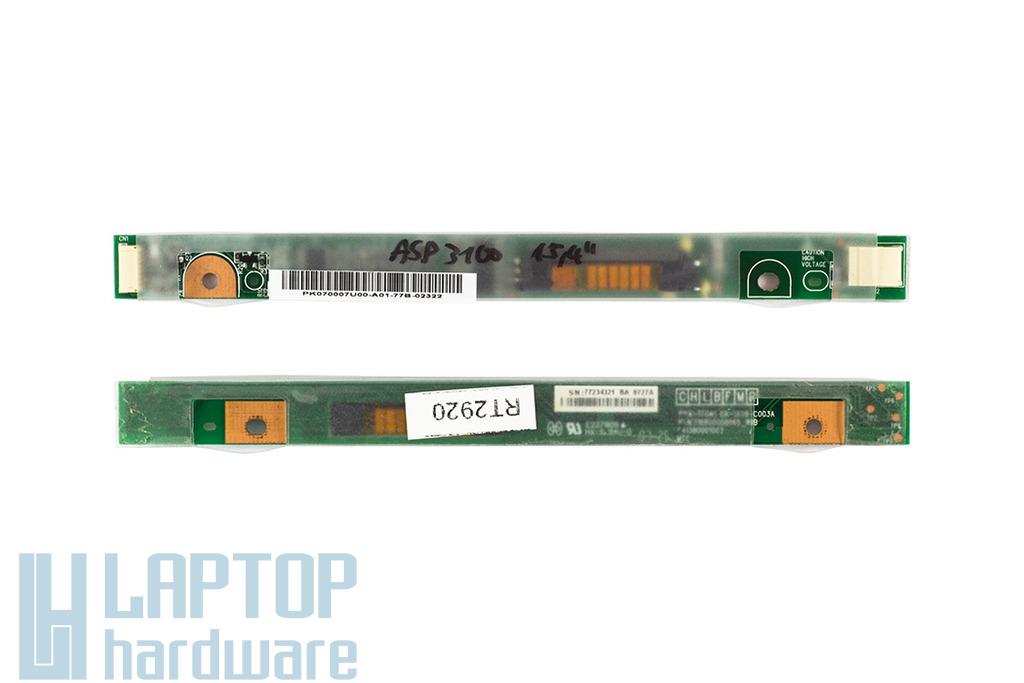Acer Aspire 3100, 5315 (15,4 inch) laptophoz használt LCD inverter (PWA-TF041, DA-1A08-C003A3L)