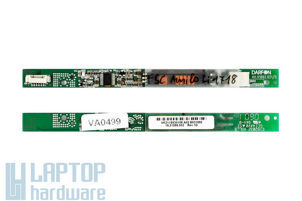 Acer Aspire 3610 Sorozat, 3612LCi, 3613LCi LCD Inverter 19.21066.002