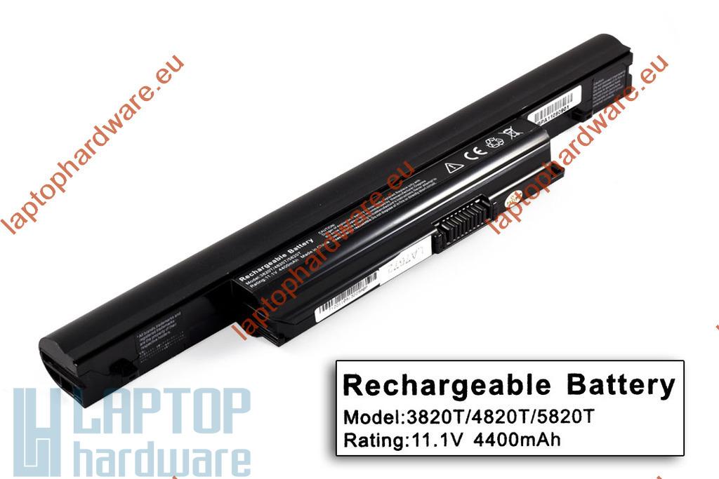 Acer Aspire 3820T, 4820T, 5820T használt 80%-os helyettesítő 6 cellás laptop akku/akkumulátor (AS10B31)