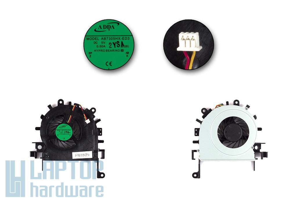 Acer Aspire 4250, 4552, 4552G laptop hűtő ventilátor, AB7305HX-ED3