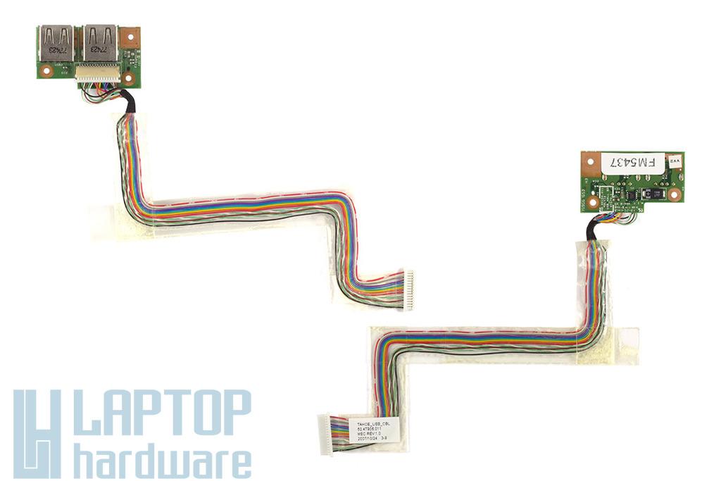 Acer Aspire 4315, 4710 használt USB panel (48.4X104.011)