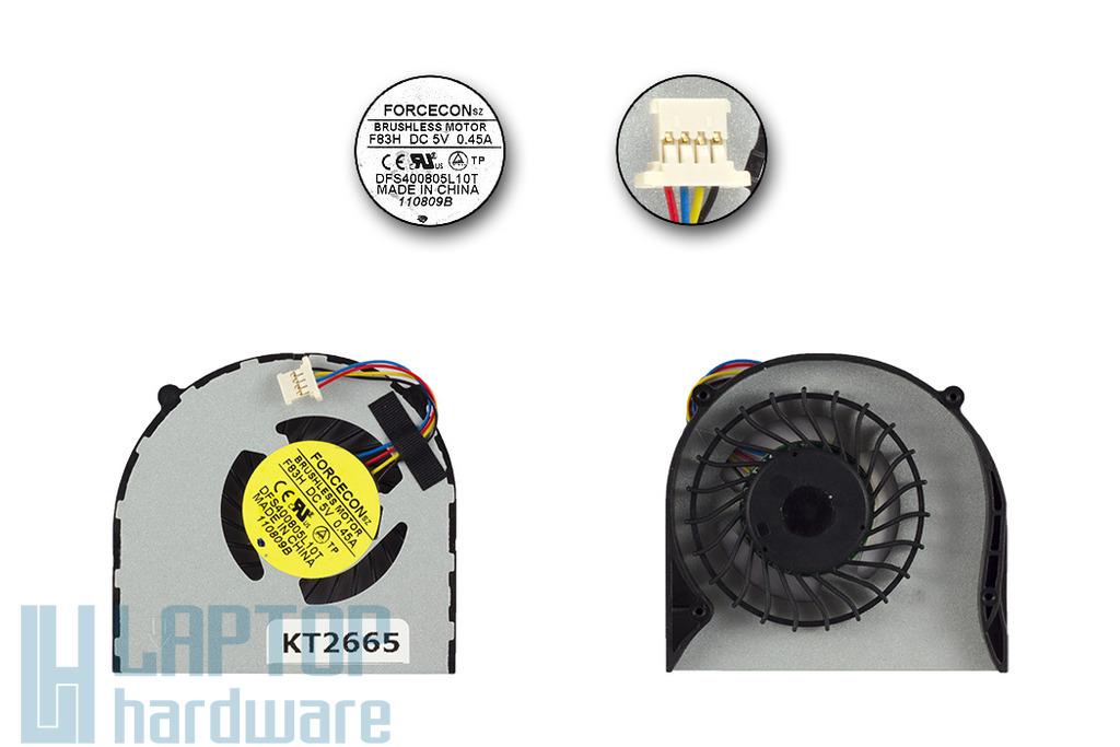 Acer Aspire 4410T, 4810T gyári új laptop hűtő ventilátor, DFS400805L10T