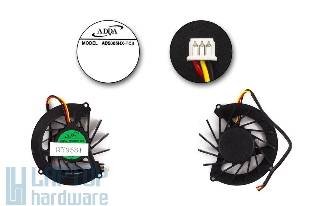 Acer Aspire 4535, 4535G gyári új laptop hűtő ventilátor (AD5005HX-TC3)