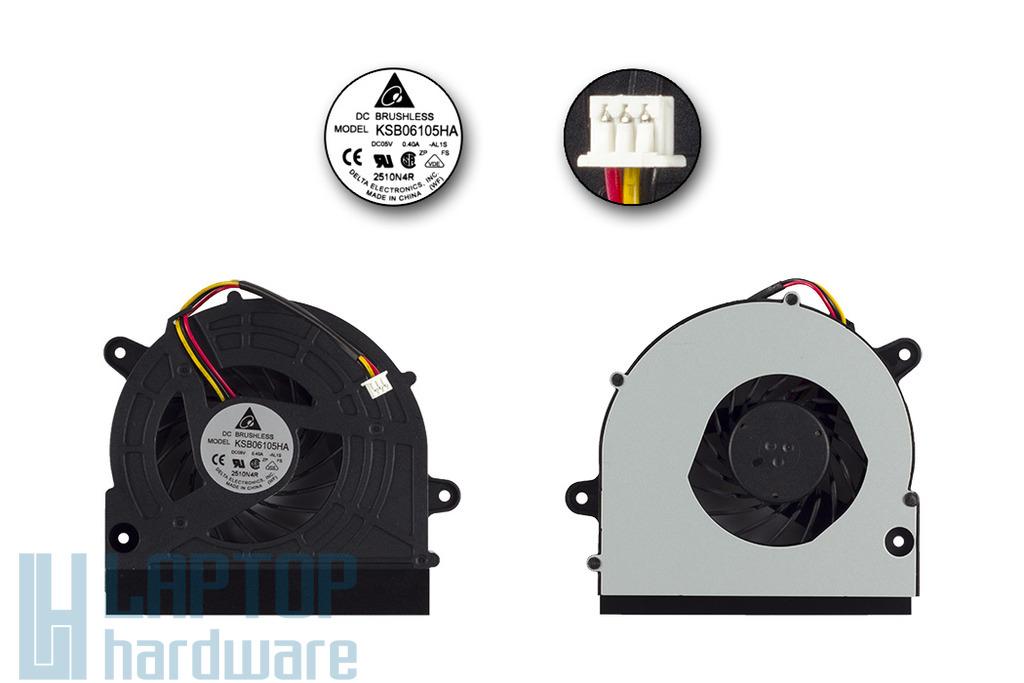 Acer Aspire 4730, 4736Z, 4736, 4736G, 5530 gyári új laptop hűtő ventilátor, KSB06105HA-AL1S