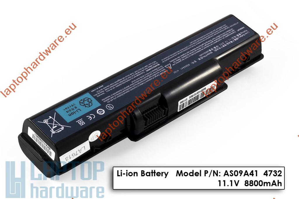 Acer Aspire 4732, 5332, 5532, 5732 használt 12 cellás laptop akku/akkumulátor (AS09A31)