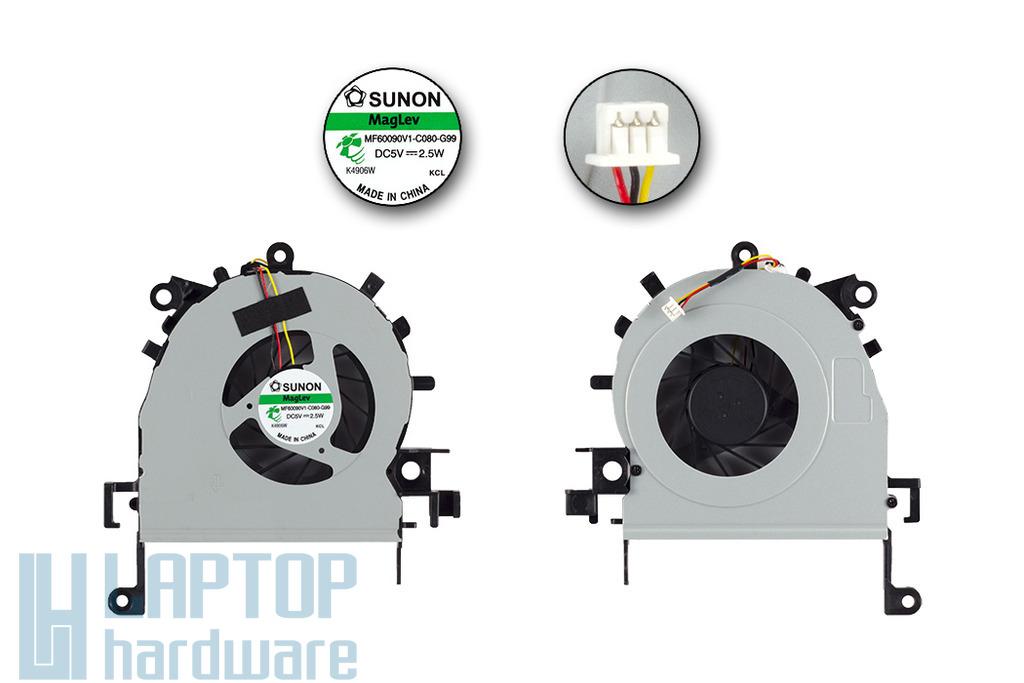 Acer Aspire 4733, 4733Z, 4738, 4738G gyári új laptop hűtő ventilátor (MF60090V1-C080-G99)