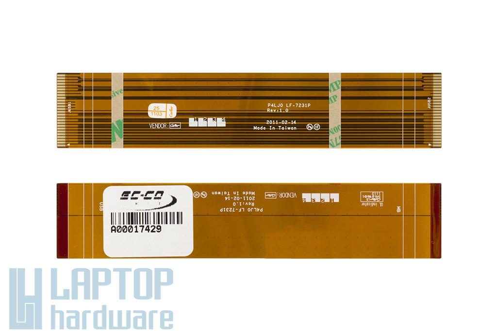 Acer Aspire 4830 gyári új USB panel szalagkábel, 50.RK702.004