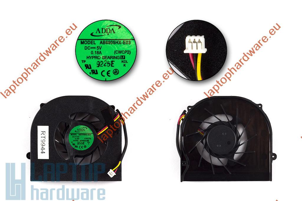 Acer Aspire 5235, 5535, 5735, 5735Z használt laptop hűtő ventilátor (AB6905HX-E03)