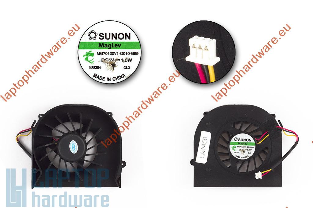 Acer Aspire 5235, 5535, 5735, 5735Z használt laptop hűtő ventilátor (MG70120V1-Q010-G99)