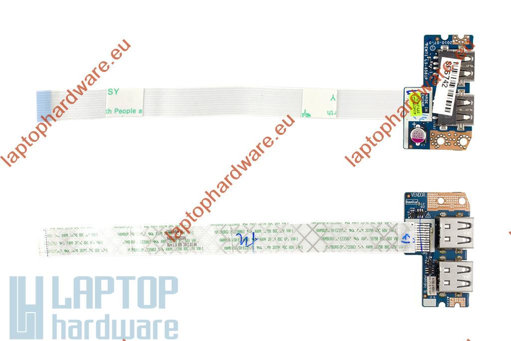 Acer Aspire 5252, 5333, 5736 (UMA) használt laptop USB panel (55.R4F02.002)