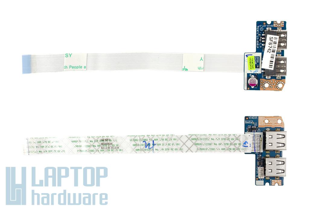 Acer Aspire 5252, 5333, 5736 laptophoz gyári új USB panel, 55.R4F02.002