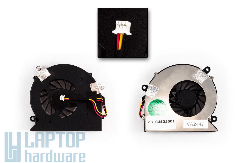 Acer Aspire 5310, 5315, 5520, 5715 gyári új laptop hűtő ventilátor (ADDA AB7805HX-EB3)