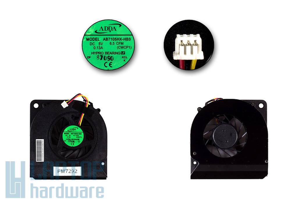 Acer Aspire 5330, 5730 laptop hűtő ventilátor (AB7105HX-HB3)