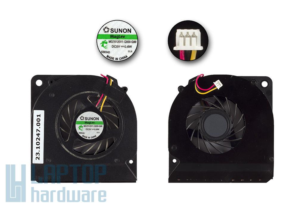 Acer Aspire 5330, 5730 laptop hűtő ventilátor (MG70120V1-Q000-G99)