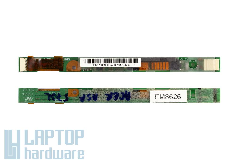 Acer Aspire 5332, eMachines E525 laptophoz használt LCD inverter (PK070009L00-A00)