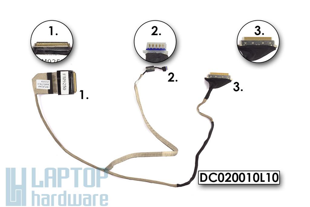 Acer Aspire 5336, 5552, 5741 és Packard Bell TK85 használt laptop LCD kábel, DC020010L10