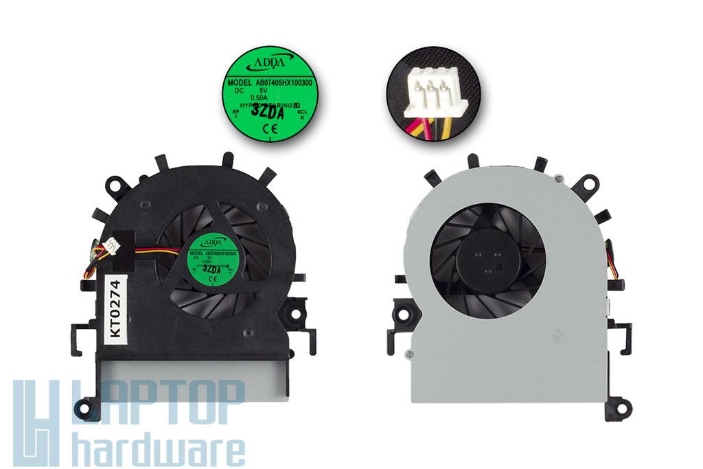 Acer Aspire 5349, 5349Z, 5749, 5749Z gyári új laptop hűtő ventilátor, AB07405HX100300