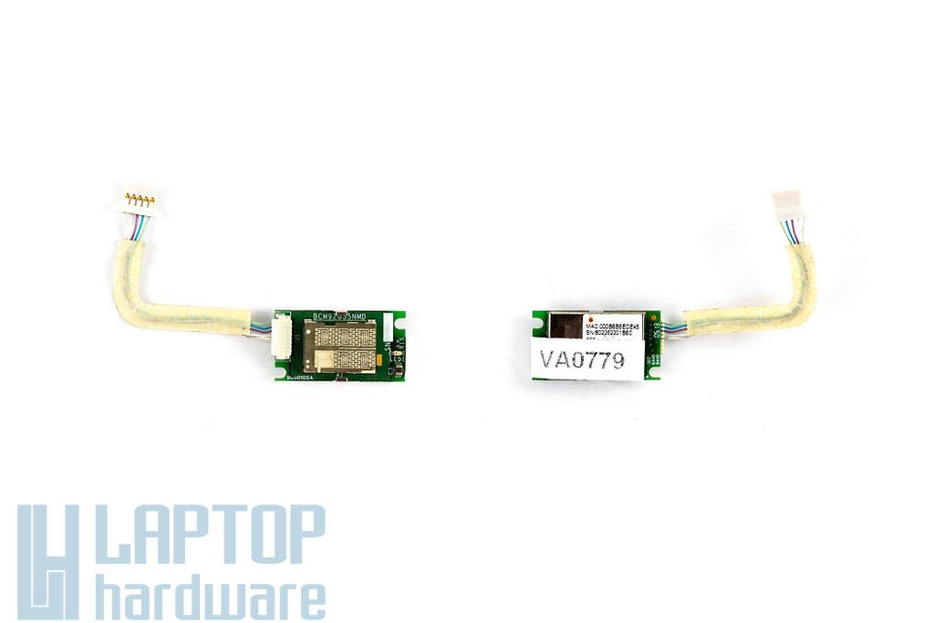 Acer Aspire 5502WXMi, 1690, 1690WLMi használt bluetooth modul átvezető kábellel (91.BU513.002)