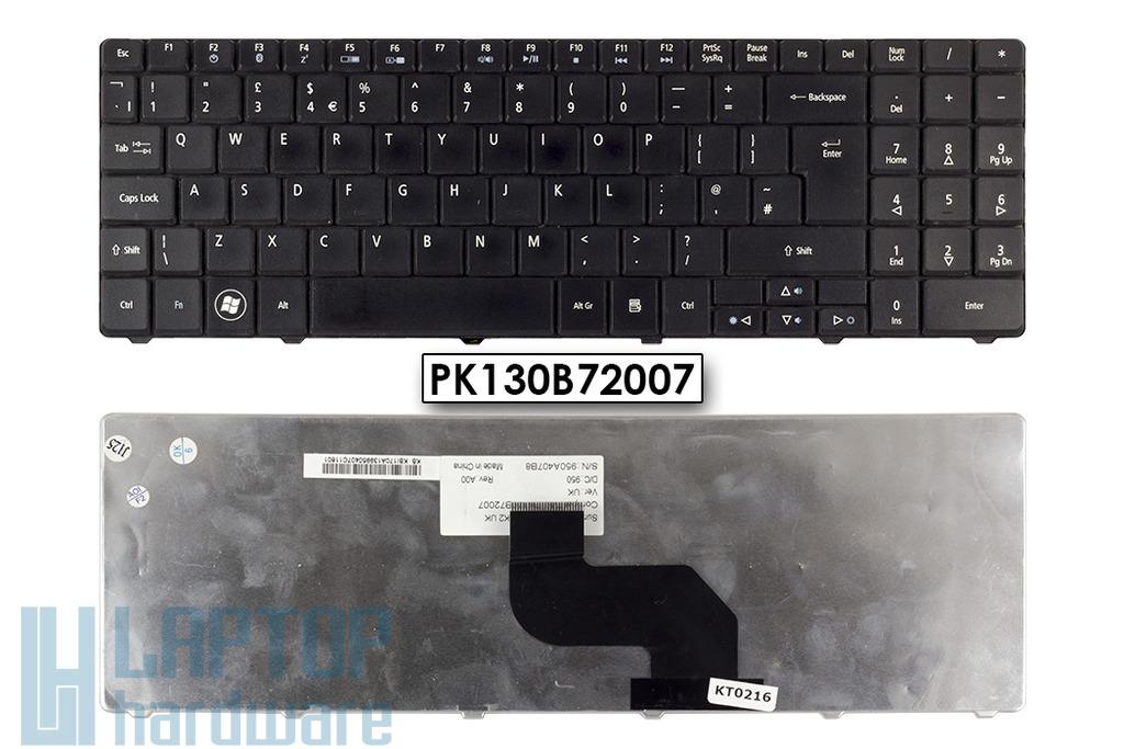 Acer Aspire 5516, 5517, 7715, eMachines E625, használt angol laptop billentyűzet (PK130B72007)